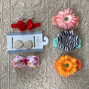 Other - BUNDLE Set of 6 Baby / Infant Headband / Head wrap